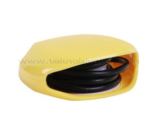 TX Kablo Toplayıcı, Toparlayıcı, Düzenleyici Kablo Organizatörü Sarı (TXACCWY)