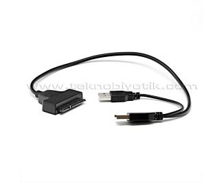 """TX USB 2.0 - 2.5"""" SATA Dönüştürücü Adaptör (Adaptörsüz) (TXACE21)"""
