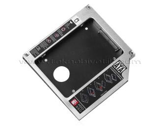 """TX 12.7mm Notebook Optik Sürücü Yuvası Uyumlu 2.5"""" SSD/HDD Kutusu (TXACED12)"""