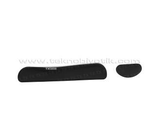 TX ergoPAD DUOPOWER Klavye ve Mouse Uyumlu Jel Bilek Desteği (TXACMKPAD01)