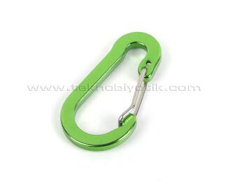 TX Outdoor Çanta Anahtarlık Karabina - Yeşil