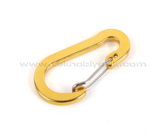 TX Outdoor Çanta Anahtarlık Karabina - Gold