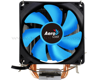 Aerocool Verkho 3 9cm Fan, 3x6mm Isı Borusu, 4pin PWM Intel / AMD Uyumlu İşlemci Soğutucusu (AE-CC-VERKHO3)
