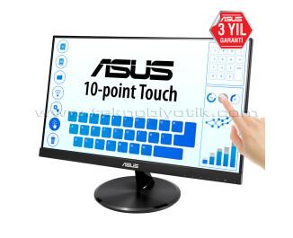 "Asus 21.5"" VT229H 1920x1080 5ms HDMI /  VGA FULL HD 10 Nokta Dokunmatik LCD Monitör"