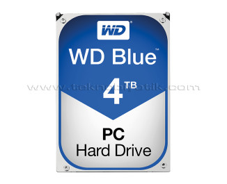 WD 4TB 3.5'' Blue 64MB 5400RPM SATA III Disk (WD40EZRZ)