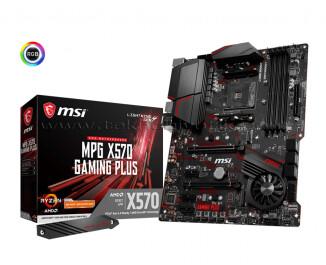 MSI MPG X570 GAMING PLUS AMD X570 4400 MHz (OC) DDR4 Soket AM4 ATX Anakart