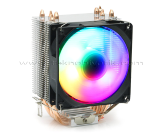 Dark Freezer X96 90mm Fixed-RGB Fan Kule Tipi Soğutucu (DKCCX96)