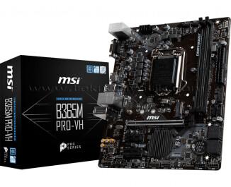 MSI B365M PRO-VH SOKET 1151 DDR4 2666 VGA HDMI M.2 USB3.1 mATX