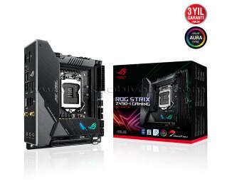 ASUS ROG STRIX Z490-I LGA1200 DDR4 4800mhz M2 USB3.2  DP HDMI  Micro ATX Anakart
