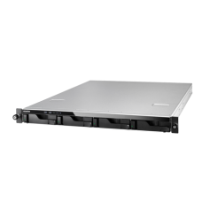 Asustor AS-604RD 4 Slot 1U Rack Nas 12 Kanal NVR Desteği/4 IP Ücretsiz