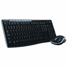 Logitech MK270 Kablosuz Klavye Fare Set (Siyah) (920-004525)