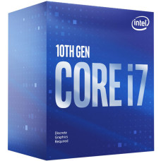 Intel Core i7-10700F 2.9GHz (Turbo 4.8GHz) 16MB Cache LGA1200 Comet Lake 10. Nesil İşlemci
