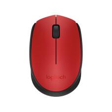 Logitech M171 USB Wireless Kırmızı Mouse (910-004641)