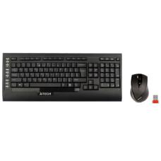 A4 Tech 9300F Kablosuz F Klavye Fare Set USB (Siyah)