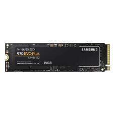 Samsung 970 Evo Plus 250GB 3400/1500 MB/s NVMe M2 SSD (MZ-V7S250BW)