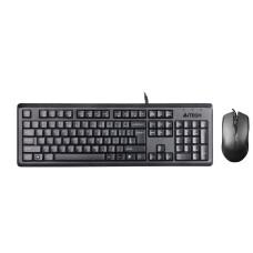A4-Tech KR-9276 Q Multimedya Klavye Mouse Set USB