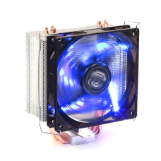 Dark Freezer X120,LGA 775/115X/1366/2011/2066, AMD AM2/AM3/FM1/FM2,20mm 4pin PWM Fanlı, 4x Isı Borusu, Direkt Kontak AMD ve Intel Uyumlu İşlemci Soğutucu (DKCCX120)