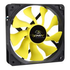 "Akasa ""Viper"" 12cm S-Flow Yüksek Performanslı Sessiz Fan (AK-FN059)"