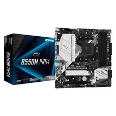 AsRock  B550M Pro4 AM4, DDR4, 4733MHz+, HDMI / DP / VGA, m.2 Armor, PCI-e 4.0, USB3.2, RGB, ARGB, mATX  Anakart