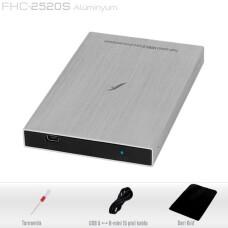 """Frisby FHC-2520S 2,5"""" SATA HDD için USB 2.0 Harici Kutu"""