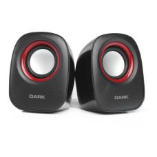 Dark SP100 1+1 Multimedia USB Siyah Speaker Hoparlör