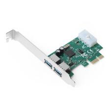 Dark 2 x USB 3.0 Portlu PCI Express x1 Anakart USB Çoklayıcı Kart (DK-AC-U3P)
