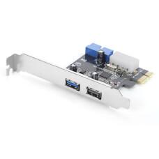 Dark 2 x USB 3.0 Port + 19 pin Portlu PCI Express x1 Kart (DK-AC-U3P21)