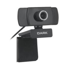 Dark WCAM10 Full HD 1080p, Monitör Üstü Uyumlu, Ayarlanabilir Açılı Mikrofonlu USB Webcam