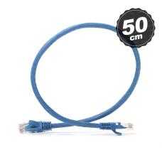 Dark 50cm CAT6 CU AWG24/7 UTP Mavi Network Kablosu (DK-CB-NT6U50BU)