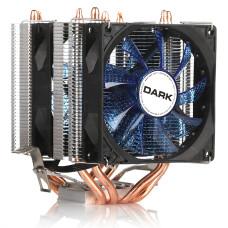 Dark Freezer X94BL, 2x92mm 4pin PWM Mavi Led Fanlı, 4xIsı Borusu, Direkt Kontak AMD Ryzen AM4 ve Intel Uyumlu İşlemci Soğutucu (DKCCX94BL)