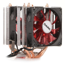 Dark Freezer X94RD, 2x92mm 4pin PWM Kırmızı Led Fanlı, 4xIsı Borusu, Direkt Kontak AMD Ryzen AM4 ve Intel Uyumlu İşlemci Soğutucu (DKCCX94RD)
