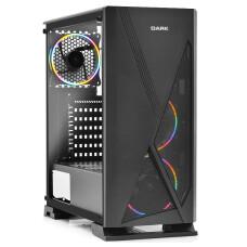 Dark Raider 500W 3x12cm FRGB Fanlı, Tempered Glass Cam Panel, USB 3.0 Bilgisayar Kasası (DKCHRAIDERP500)