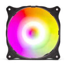 Dark Tornado 12cm Adreslenebilir ARGB LED'li Kasa Fanı (3pin ARGB Anakart Yuvası Bağlantılı)