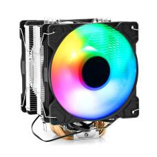 Dark Freezer X125 2x12cm FRGB LED Fanlı, Intel / AMD Uyumlu, 4Pin PWM Bağlantılı Kule Tipi İşlemci Soğutucu (DKCCX125)