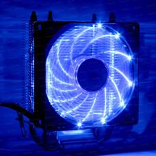 Dark Freezer X92BL, 92mm 4pin PWM Mavi Led Fanlı, 2x Isı Borusu, Direkt Kontak AMD Ryzen AM4 ve Intel Uyumlu İşlemci Soğutucu (DKCCX92BL)