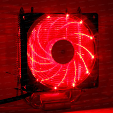 Dark Freezer X92RD, 92mm 4pin PWM Kırmızı Led Fanlı, 2x Isı Borusu, Direkt Kontak AMD Ryzen AM4 ve Intel Uyumlu İşlemci Soğutucu (DKCCX92RD)