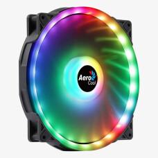 Aerocool Duo20 20cm ARGB Adreslenebilir RGB LED Fanlı, Otomatik Hız Ayarlı, PWM, Kasa Fanı (AE-CFDUO20)