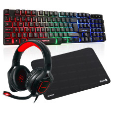 Dark Elite Force Gamer M Aksesuar Paketi (Dark GK1000 Mekanik Hisli Klavye + Dark GH200 Stereo Kulaklık + Dark Shift 300 M Mousepad)