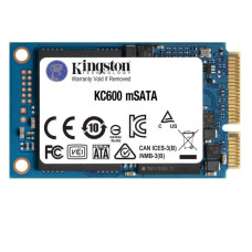 "Kingston KC600 512GB 550-520MB/s 2.5"" mSATA SSD (SKC600MS/512G)"