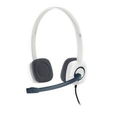 Logitech H150 Stereo Mikrofonlu Kulaklık (Cloud White) (981-000350)