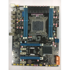 Intel E5 3.2C X79 LGA 2011 For I7 E5-V1 E5-V2 DDR3/ECC 64G 2*PCI-E SATA3 USB3.0 ATX Desktop Motherboard