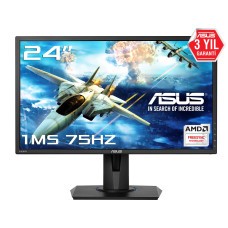 "Asus 24"" VG245H 1920x1080 1Ms 2 HDMI 1VGA FULL HD LED Monitör"