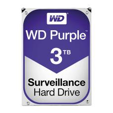 """WD 3TB Purple 3.5"""" 5400RPM 64MB SATA 3 7/24 Disk (WD30PURZ)"""